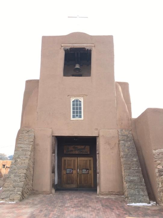 OLDEST CHURCH IN U.S. (SANTA FE)